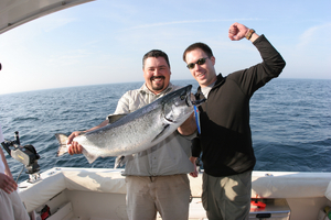 Fish grand haven charter boat lake michigan fishing for Grand haven fishing report